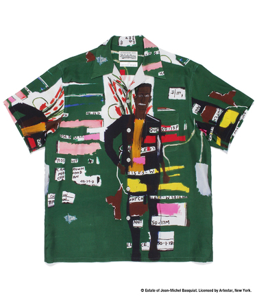 JEAN-MICHEL BASQUIAT / HAWAIIAN SHIRT
