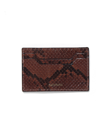 PORTER / PYTHON LEATHER CARD CASE
