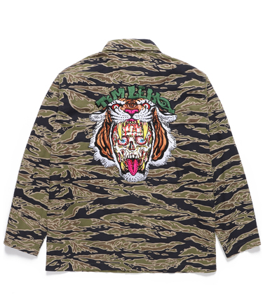 TIM LEHI / TIGER CAMO ARMY SHIRT