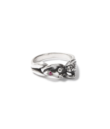 NUDE RING-RUBY
