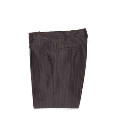 PLEATED SHORT TROUSERS