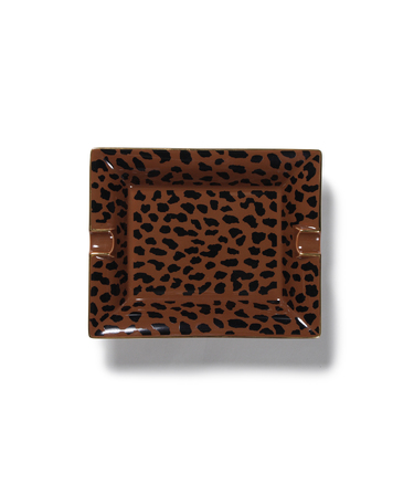 LEOPARD ASHTRAY-LARGE-